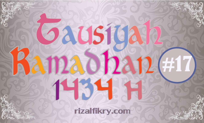 Tausiyah Ramadhan 1344 H
