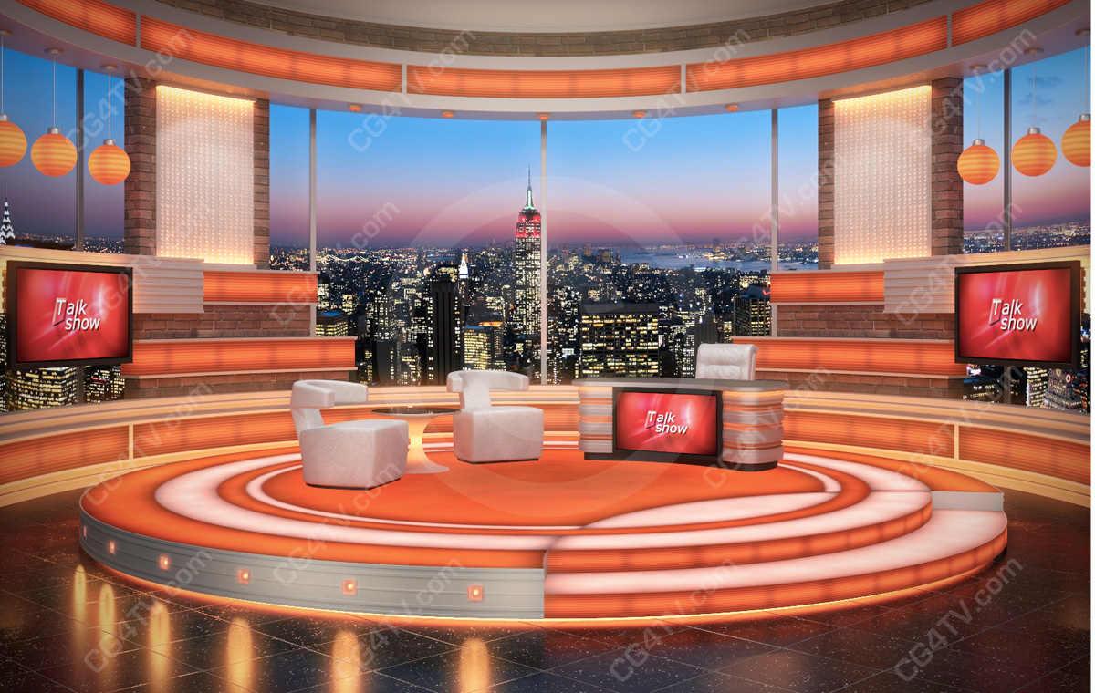 talk-show-set